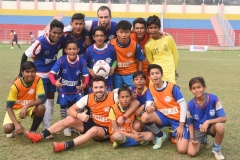 SSFL Camp with DFB's German Student National Football Team